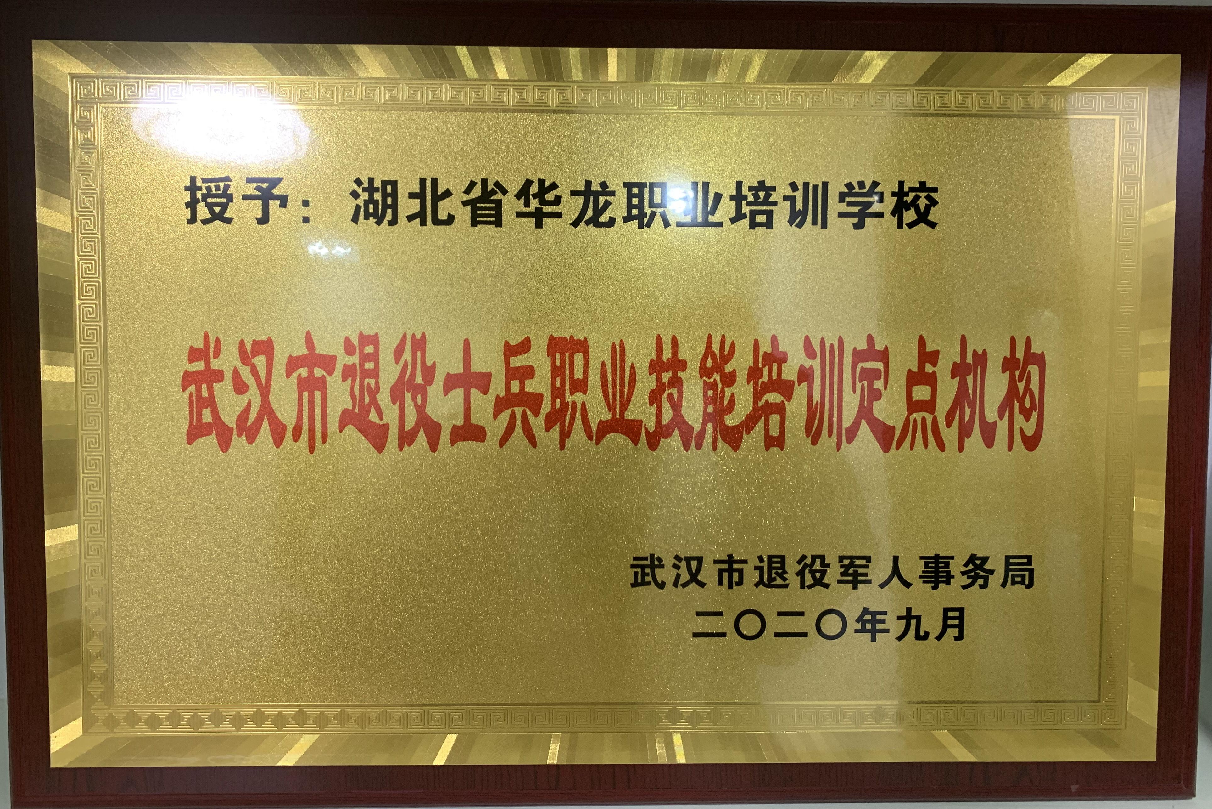 武汉市退役士兵职业技能培训定点机构