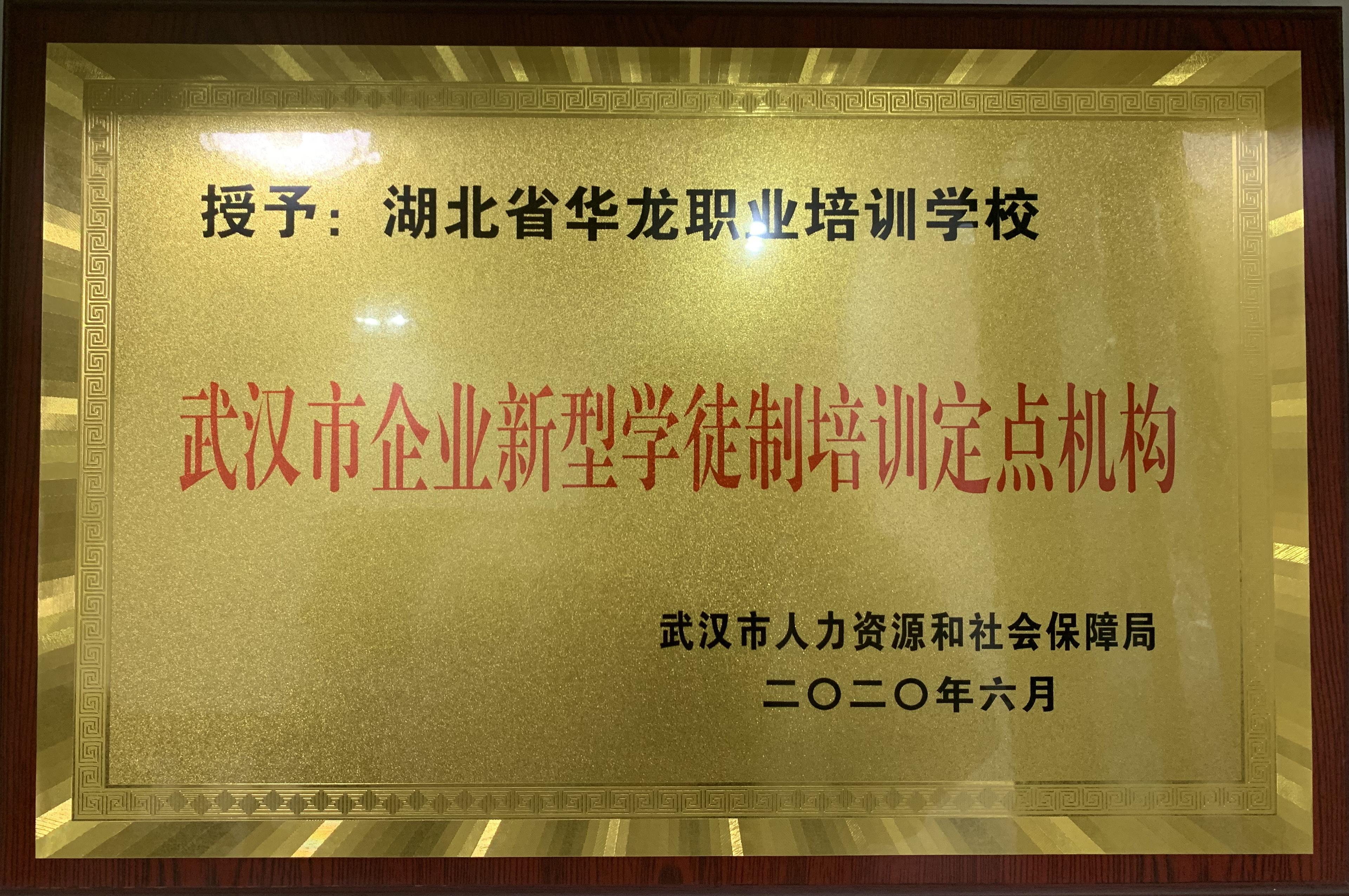 武汉市企业新型学徒制培训定点机构