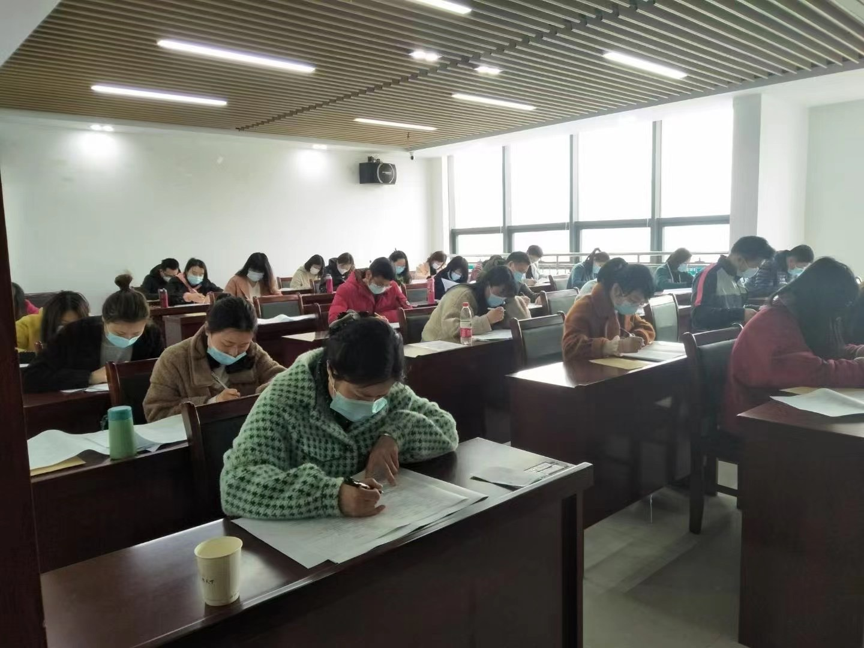 华龙职校职业技能等级认定考试首考顺利举行!